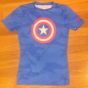 Captain America Fitted Top